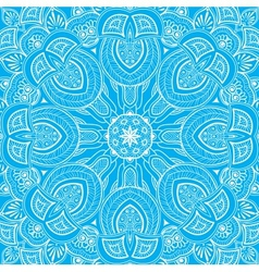 Ornamental round lace background 3 vector image vector image