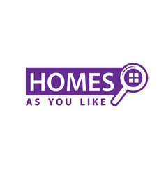 homes for sale sign vector image