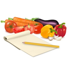 vegetables vector image vector image