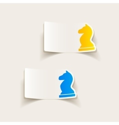 Realistic design element chess vector