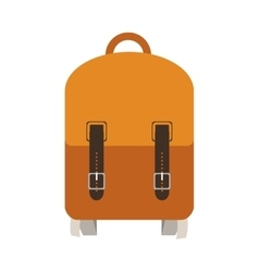 School backpack icon vector
