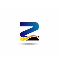sign number 3 logo vector image