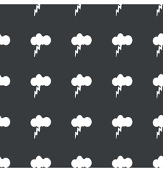 Straight black thunderstorm pattern vector