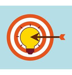Target arrow vector