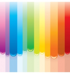 paint rainbow vector image vector image