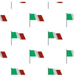 italian flag pattern flat vector image