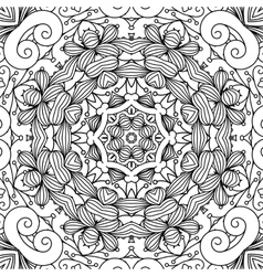 Beautiful background composed of geometric designs vector image