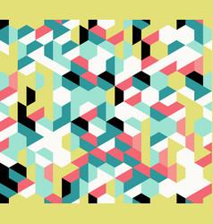 colorful irregular abstract geometric vector image