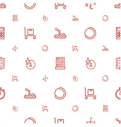 Design icons pattern seamless white background vector