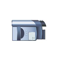 Digital video camera vector
