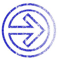 Import grunge textured icon vector