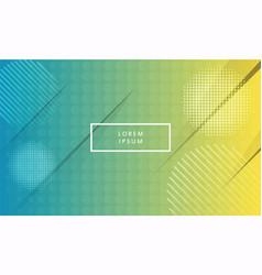 minimal geometric background vector image