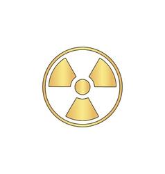 Radiation computer symbol vector