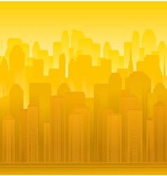 urban modern landscape vector image