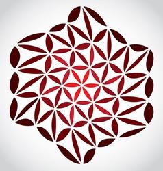 FlowerOfLifeTheme vector image