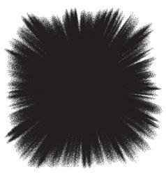 Plasma space burst background EPS 10 vector image vector image