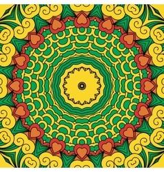 beautiful full frame yellow geometric design vector image