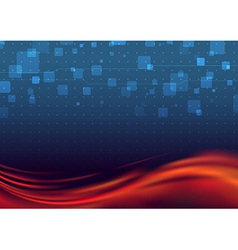 Liquid flare - abstract background vector image