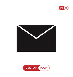 mail icon email symbol envelope sign isolated on vector image