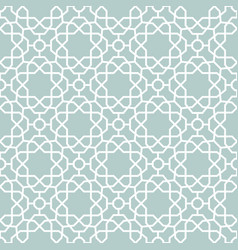 seamless geometric blue and white vector image