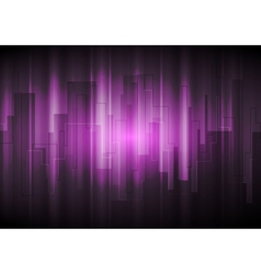 Purple modern background vector image vector image