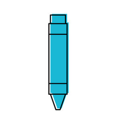 pencil writing instrument vector image vector image