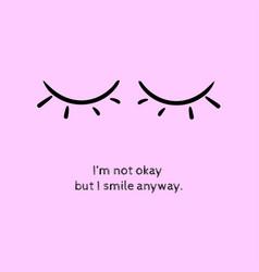sad face emotions expressing regret vector image