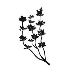 The mongolian medicinal plant artyshsymbol of vector