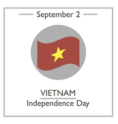 Vietnam Independence Day vector image