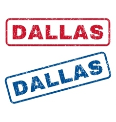 Dallas Rubber Stamps vector