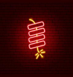 petard neon sign vector image