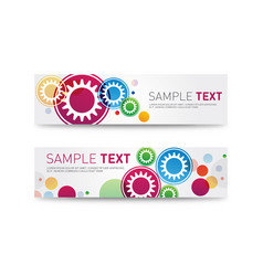 website headers or promotion banners templates vector image