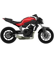 Yamaha mt-07 vector