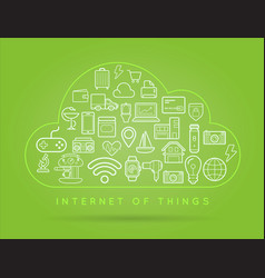 70 internet things b vector