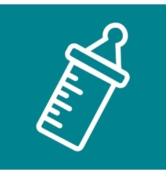 Milk Bottle I vector image