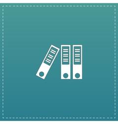 Office folder icon vector