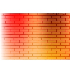 Color Brickwall Texture vector image