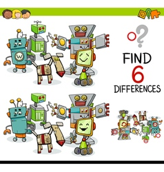 Difference game with robots vector