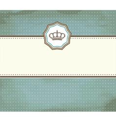 grunge card vector image