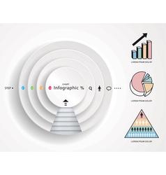 Infographics Diagram vector image