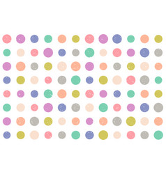 Pattern with grunge dots vector