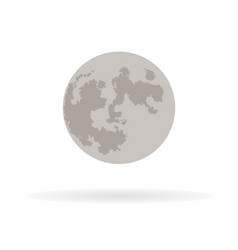 phases of the moon icons new moon 1 vector image