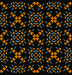 Sharp shapes seamless pattern vector