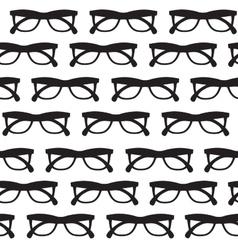 Glasses background vector image