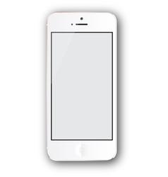 White iphone vector