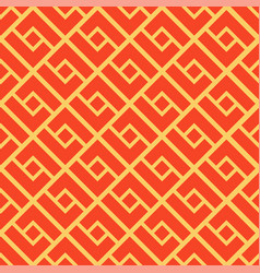 abstract geometric seamless pattern chinese vector image