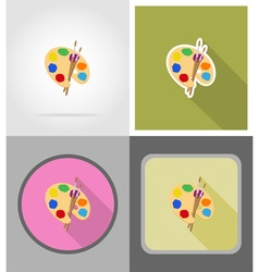 school education flat icons 04 vector image vector image