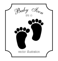 Baby icon design vector