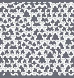 Gray irregular geometric seamless pattern vector