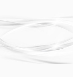 grey graphic beautiful elegant swoosh lines vector image